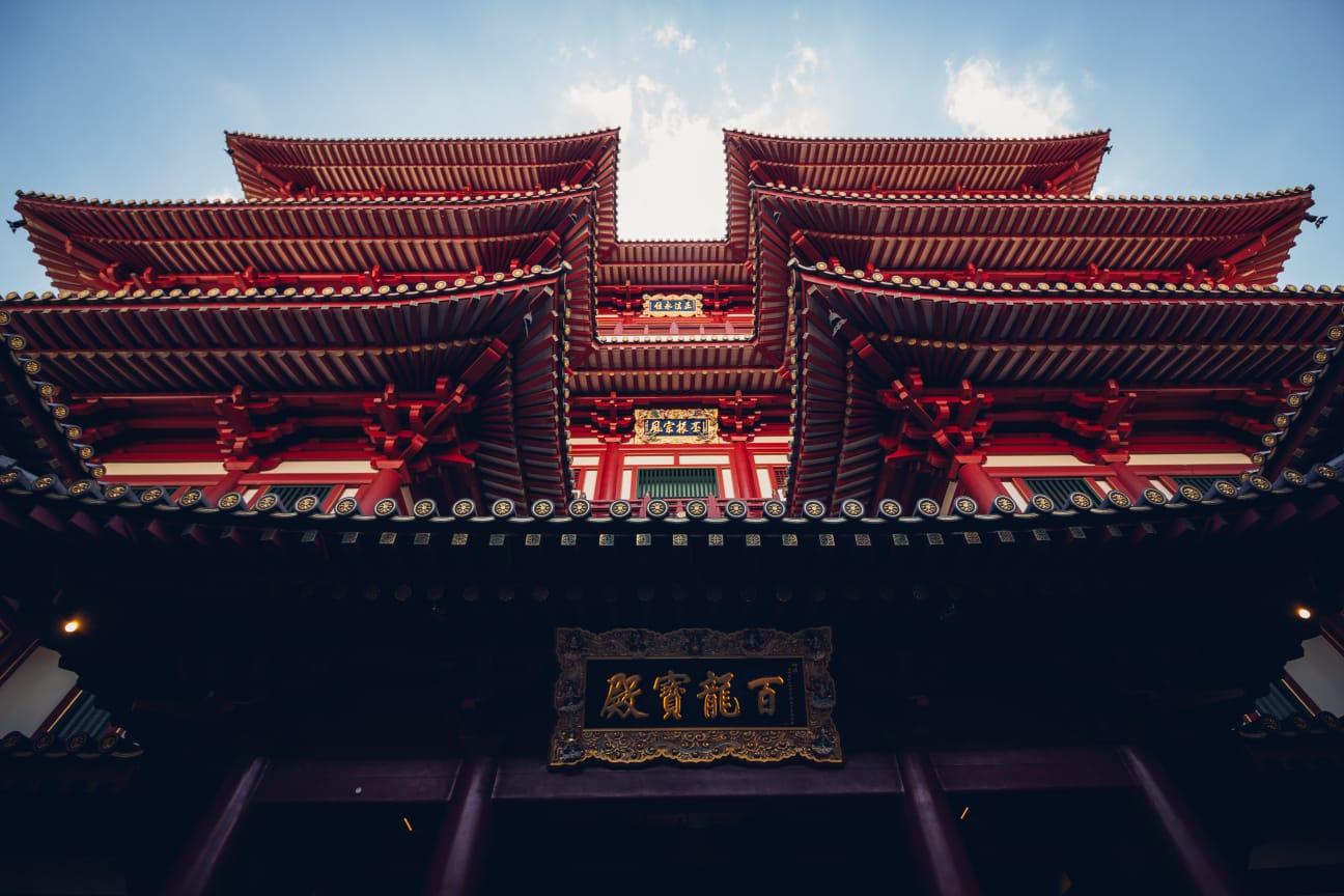 tempio buddista a Singapore
