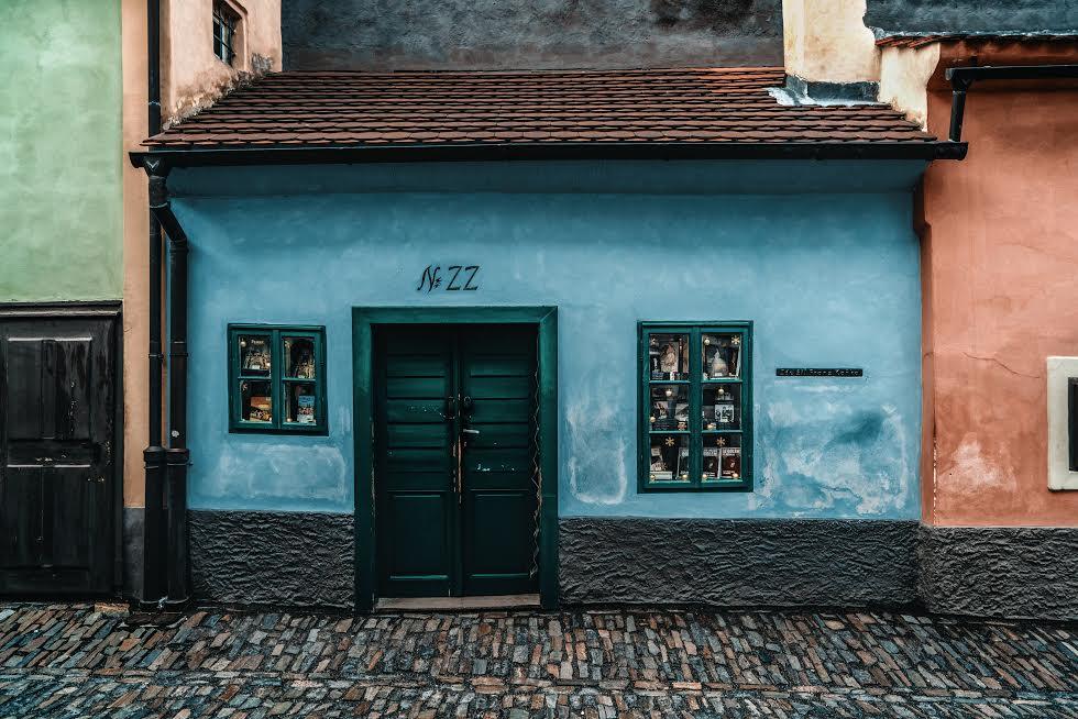 Kafa Kafka a Praga