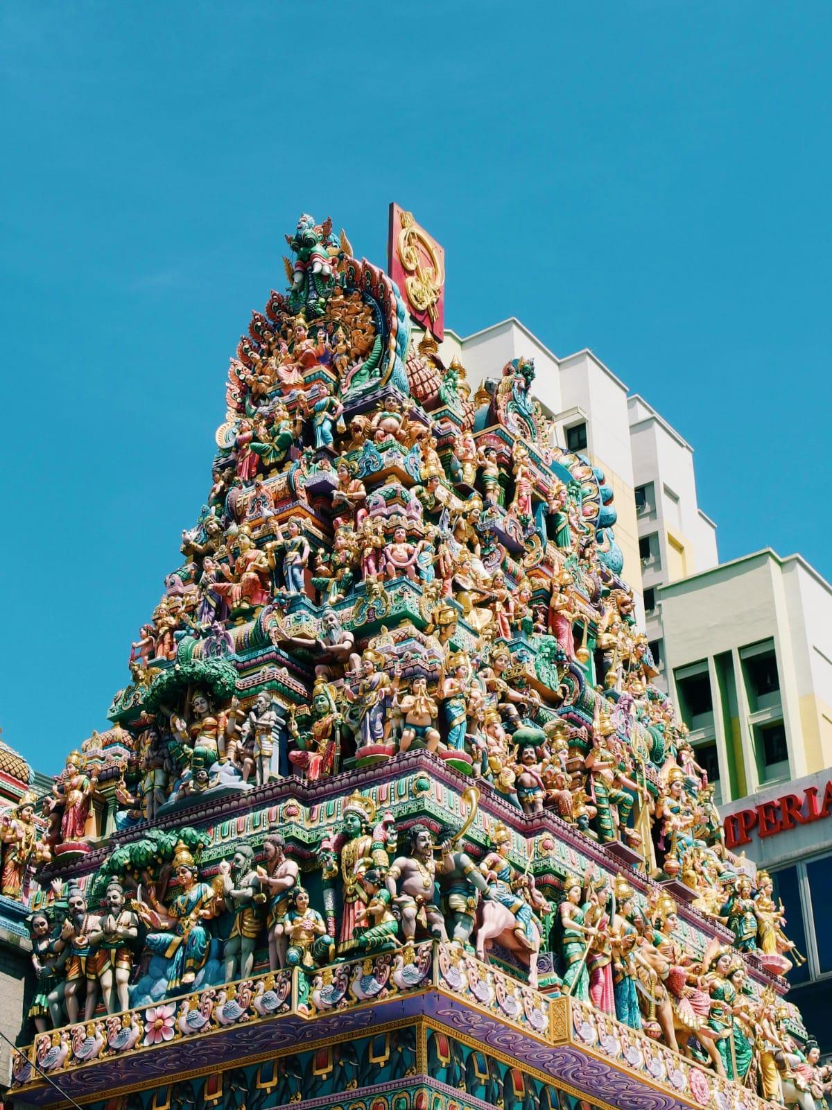 tempio induista a Singapore
