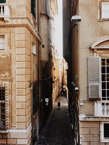 Le strade di Genova