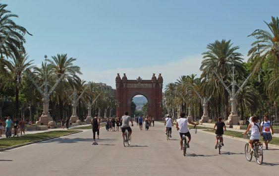 Visitare Barcellona in bicicletta