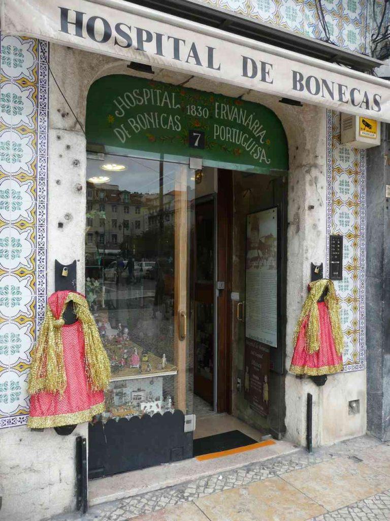 ospedale delle bambole Lisbona