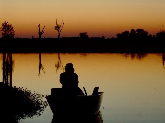 Lago nel Northern Territory in Australia