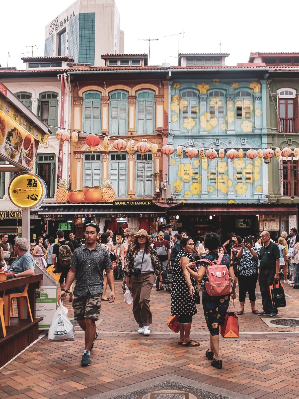 chinatown di Singapore