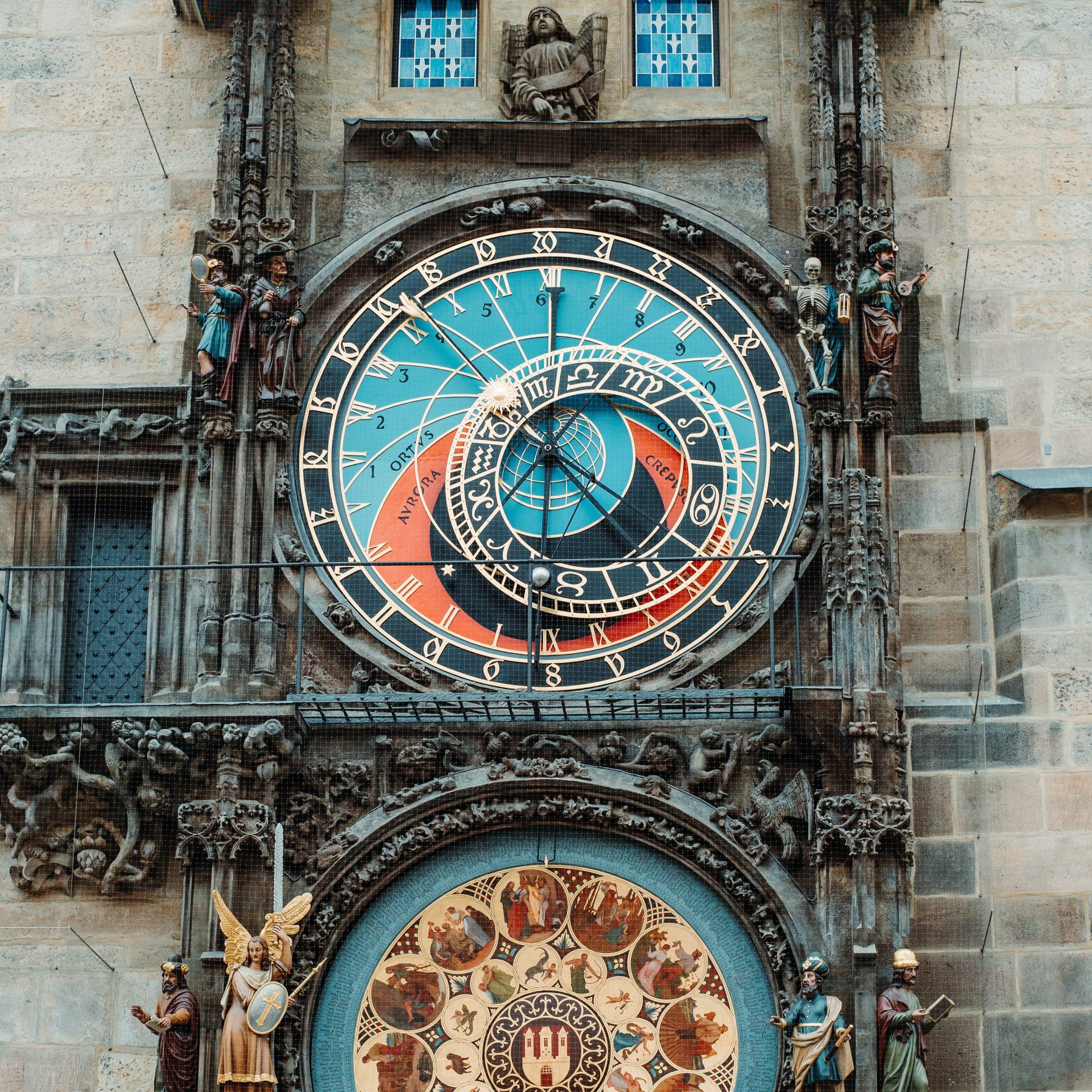 Praga esoterica cosa vedere Orologio Astronomico