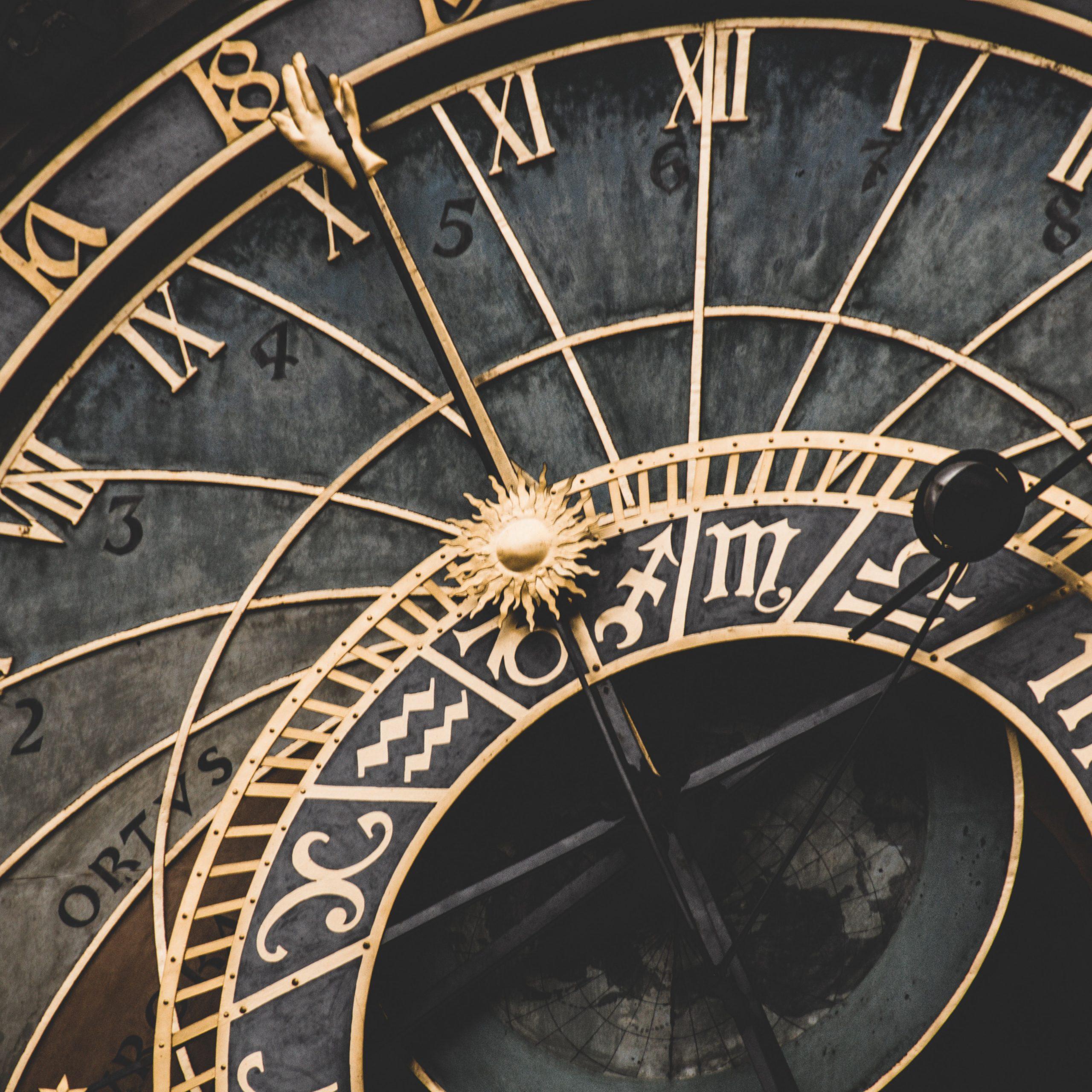 quadrante dell'orologio astronomico di Praga