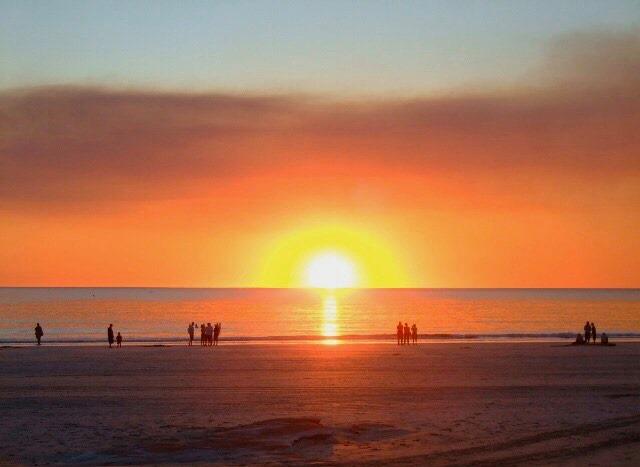 Sunset sulla East Coast in Australia