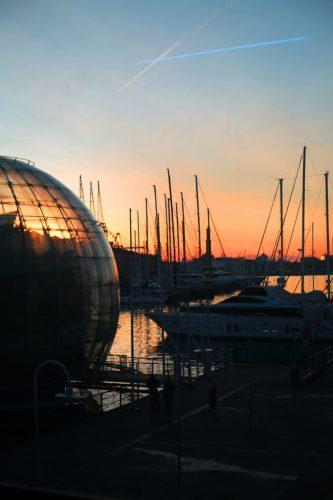 La biosfera Porto Antico di Genova