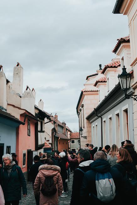 Praga esoterica cosa vedere Vicolo d'oro